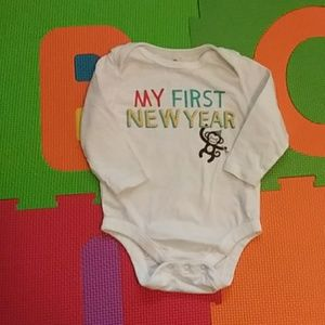 """My First New Year"" Bodysuit"